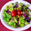 Garden Salad with Pear