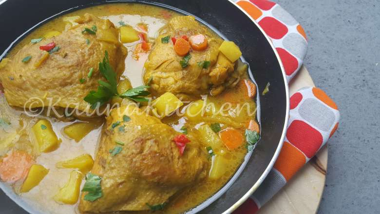 Kauna Kitchen Chicken Curry