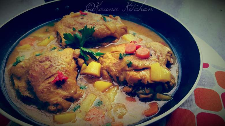 Kauna Kitchen Curry Chicken