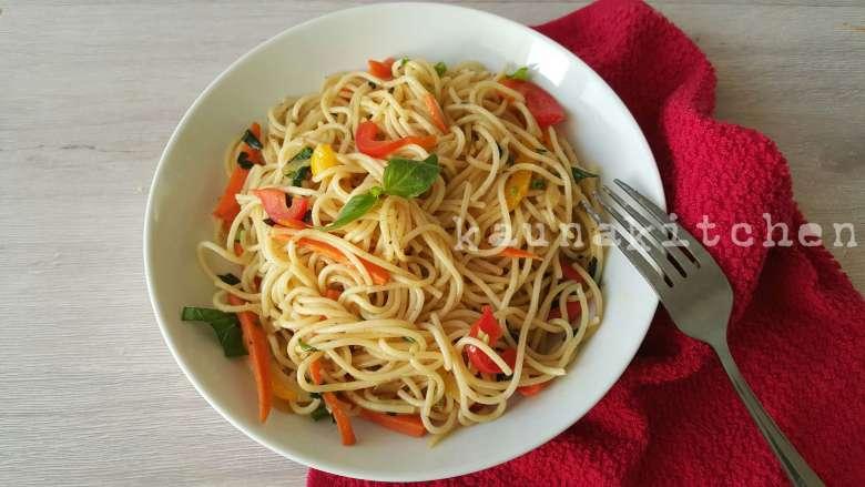 Nigerian spaghetti