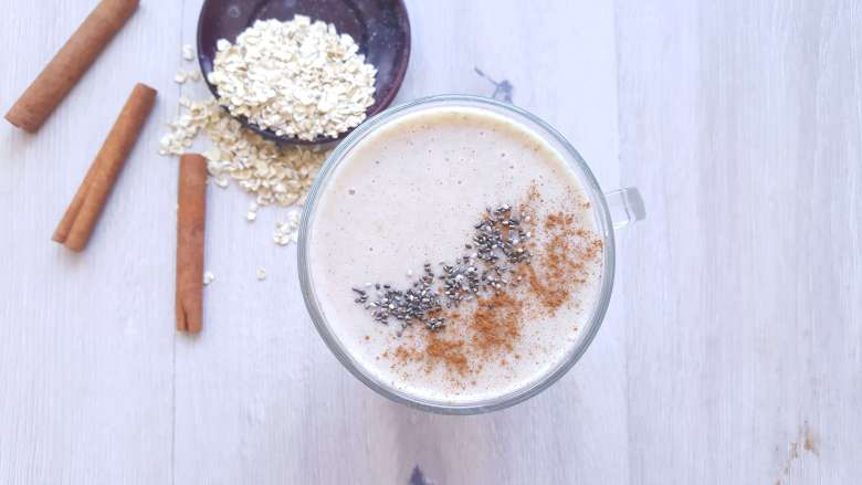 Nigerian oatmeal smoothie
