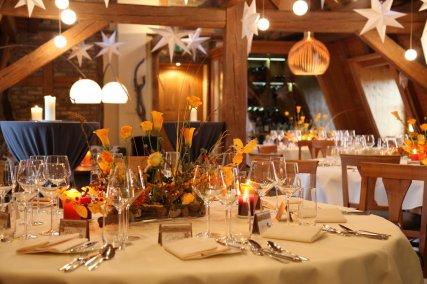 Romantische Herbst Hochzeit