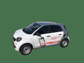 Button voor het aanbod van deelauto's bij KAV Autoverhuur