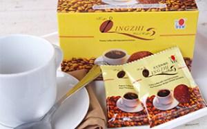 Lingzhi Black kávé