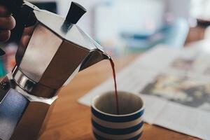 Kávé hatásai - kávéfőző
