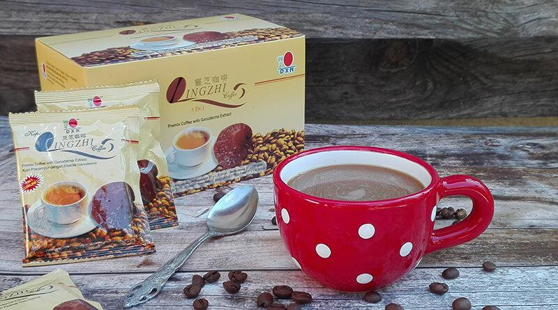 Lingzhi 3 in 1 kávé
