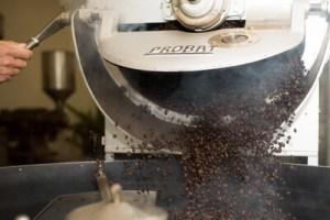 Kávé pörkölése
