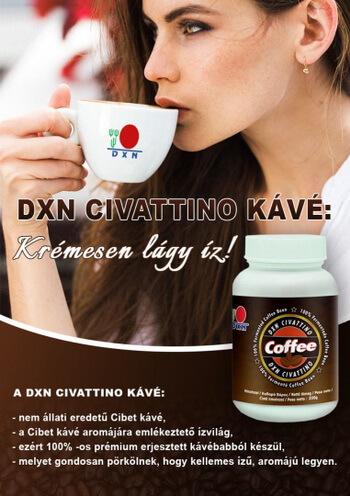 DXN Civattino kávé
