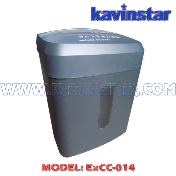 Kavinstar ExCC 014 Small Paper Shredder Machine Shred Upto 8 Sheets (70gsm) at a time with Separate Socket for CD and Credit Card