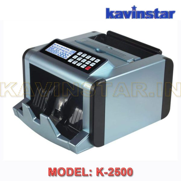 Kavinstar K-2500 Mini Cash Counting Machine with Fake Note Detector