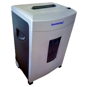 Kavinstar CC 15 Cross Cut Paper Shredder Machine Shred Upto 12-15 Sheets (70gsm) at a time with CD , Credit Card Separate Slot