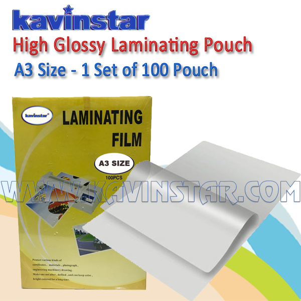LAMINATING POUCH A3 SIZE
