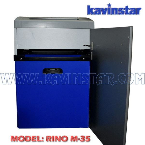 Kavinstar RINO M35 Heavy Duty Paper Shredder Machine Shred Upto 30-35 Sheets at time with CD and Credit Card Separate Slot and Soundless /Low noise Shredding