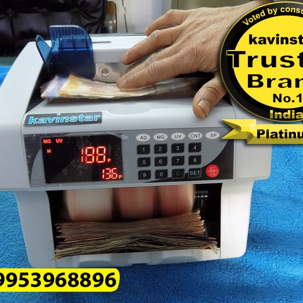 Kavinstar TOP LOADER Note Counting Machine with Fake Note Detector