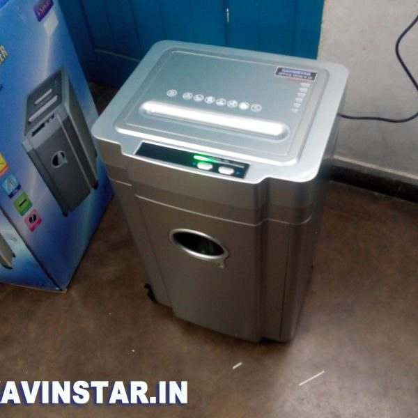 Kavinstar OFFICE-DESK K25 Heavy Duty Paper Shredder Machine Shred Up to 20-25 Sheets at a time with Low Noise
