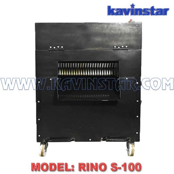 Kavinstar RINO S100 Nonstop Running Industrial Paper Shredder Machine or Paper Katran Machine Shred Upto 100 Sheets at a time