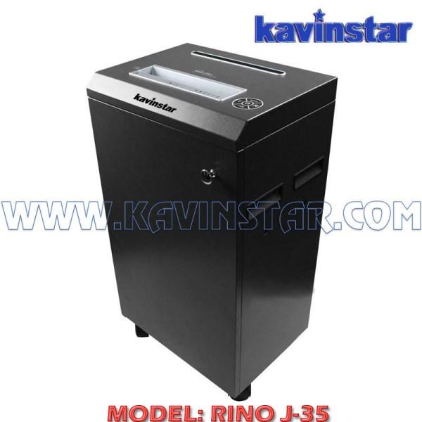 Kavinstar RINO J35 Heavy Duty Paper Shredder Machine Shred Upto 30-35 Sheets at a time