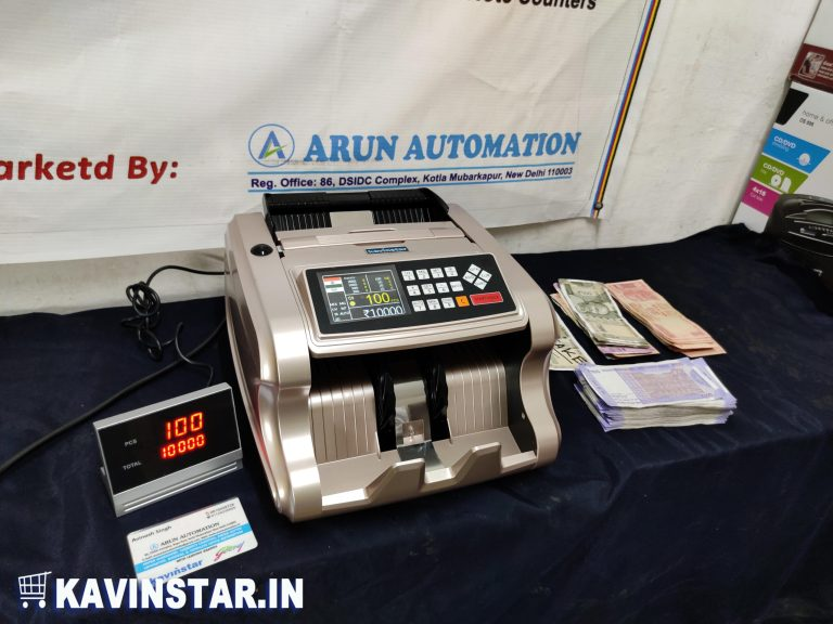 Valuemaster Mix Currency Counting Machine with Fake Note Detector