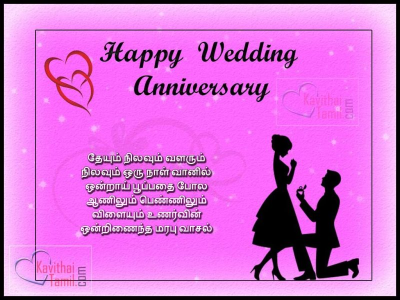 25th wedding anniversary poems in tamil creativepoem 20 tamil wedding day greetings and kavithai m4hsunfo