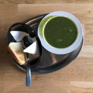Dunakafe - špenátová polévka