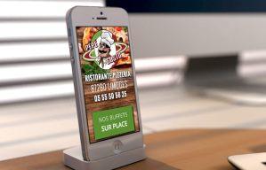 Kawa Synergy - Création de sites internet Bordeaux, réalisation, graphisme, référencement - Sites internet vitrine - restaurant pizzeria