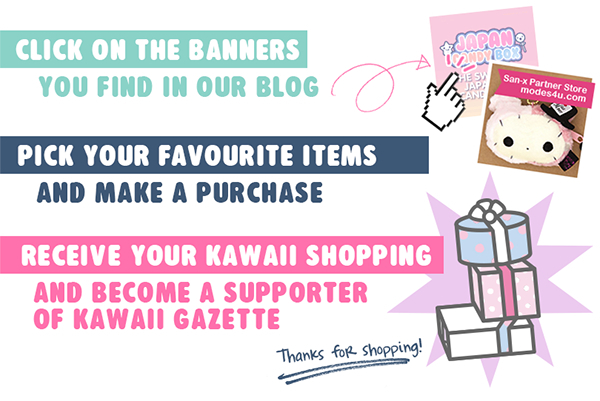 Your shopping with Kawaii Gazette