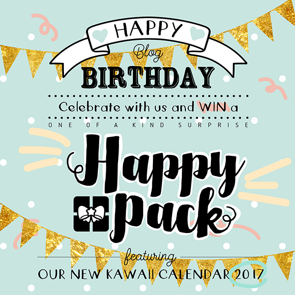 Giveaway Happy Pack