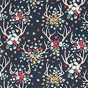 Forest animal fabric by Dear Stella
