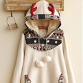 Fairyland - Antler Hooded Pullover