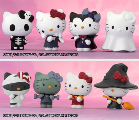 Hello Kitty Mega Monster Cosplay Collection