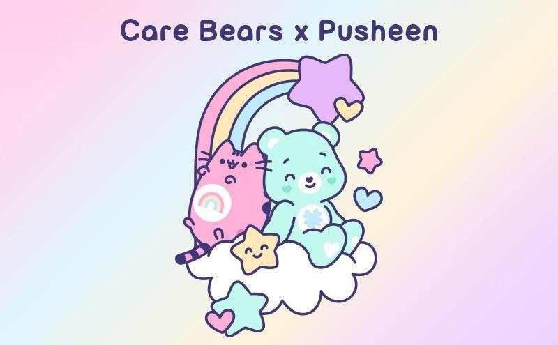 Care Bears x Pusheen