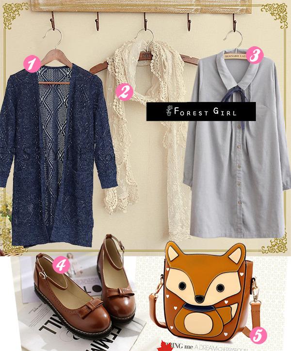 Cute Shopping Mori Style