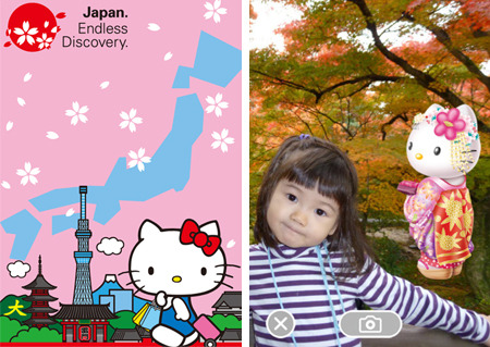 Visit Japan with Hello Kitty