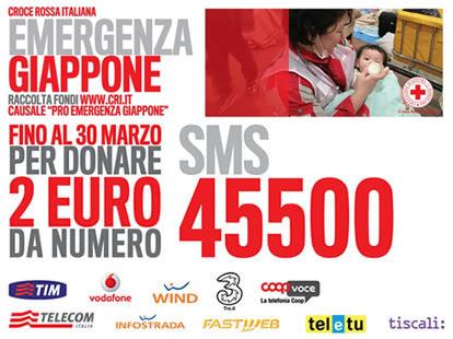 Croce Rossa Italiana - Emergenza Giappone