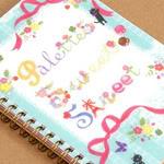 Palette's Sweet Street (San-x) notebook