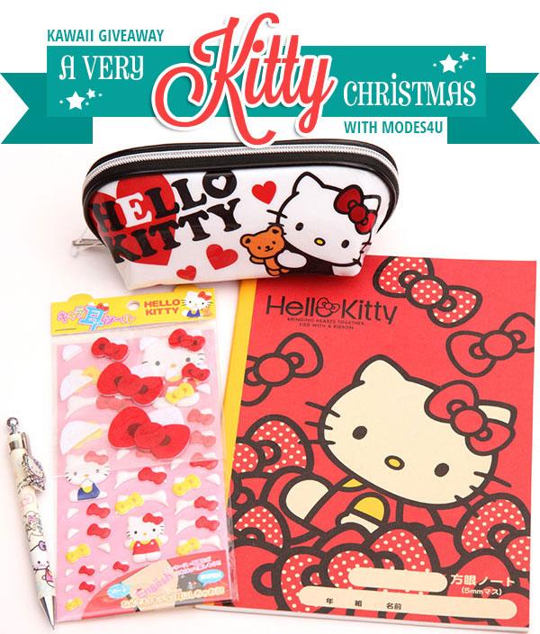 A Very Kitty Christmas Kawaii Giveaway