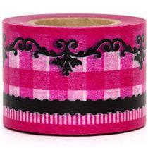 Pink & Black washi tape at Modes4U