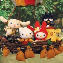 I personaggi di Hello Kitty Stump Village