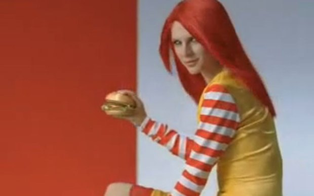 Japanese Mcdonalds Ads With Fashion Models Kawaii