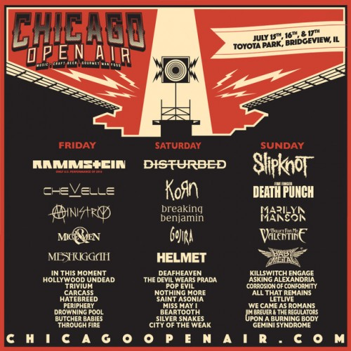 BABYMETAL To Participate In Rock Festival CHICAGO OPEN