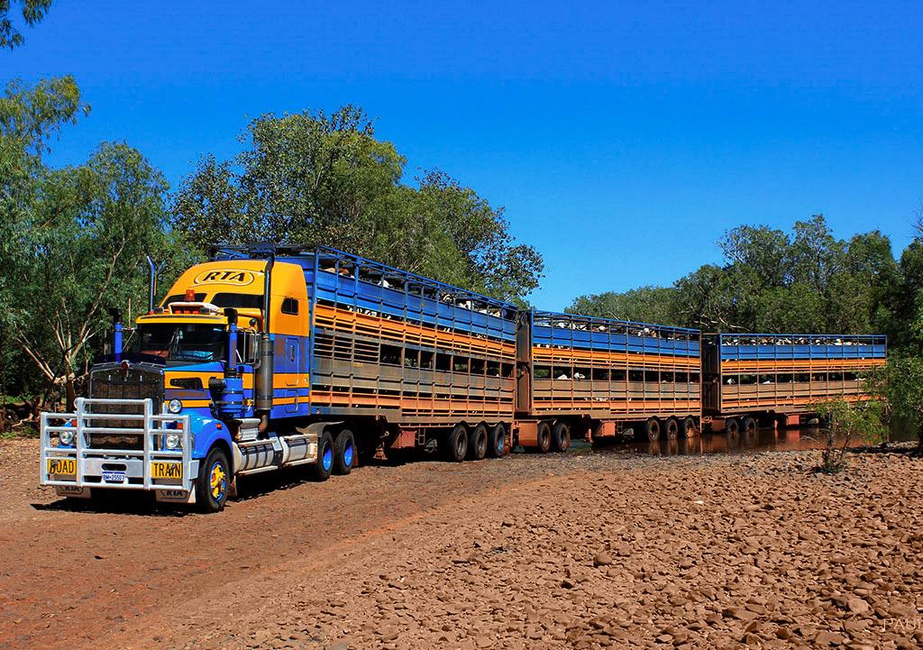 road train australia wyprawa