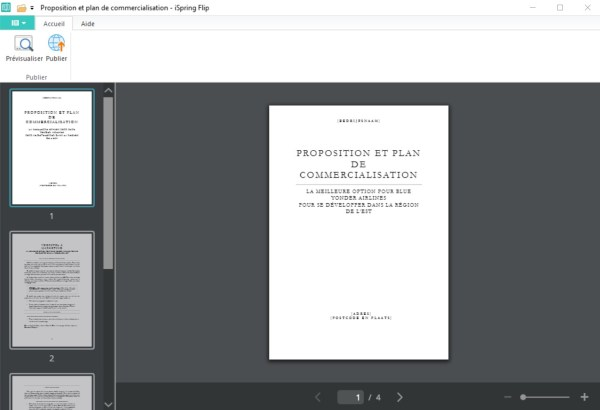 Ispring suite 9 et le module création de livre