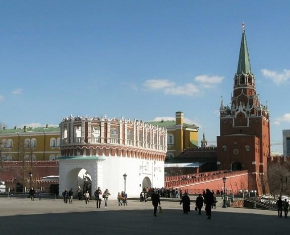 Pontos turísticos em Moscou