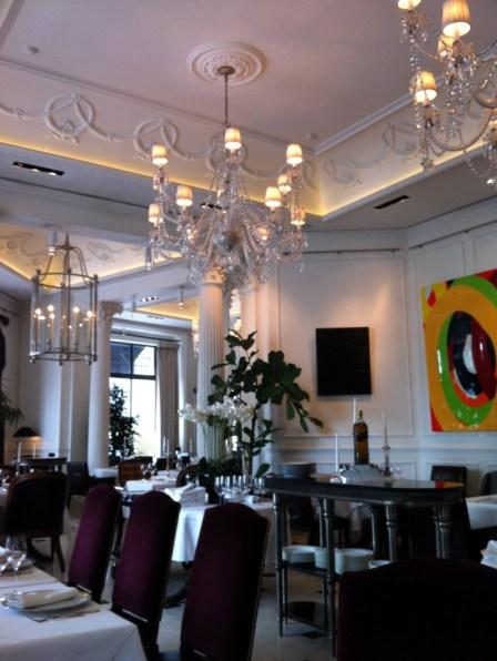 Bolshoi restaurant em Moscou