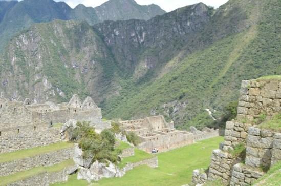 Sitio arqueológico em Machu Picchu