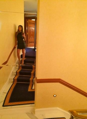 Decoração luxuosa em Hotel de Dubai