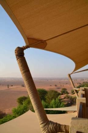 Resort no deserto de Dubai