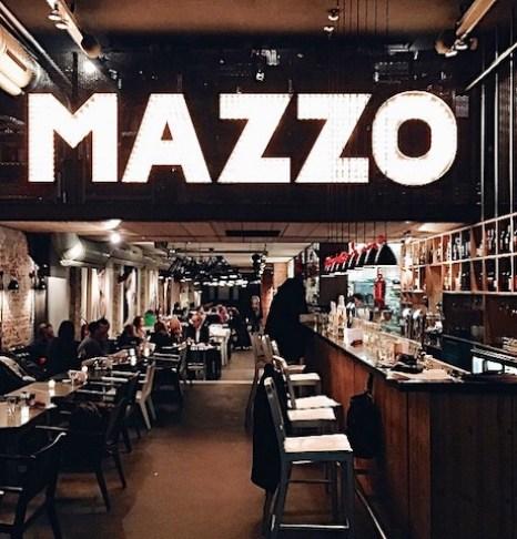 Restaurante Mazzo em Amsterdam