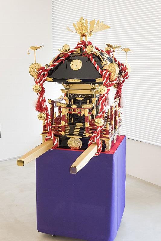 子供神輿(尺5寸・延べ破風南神神輿)
