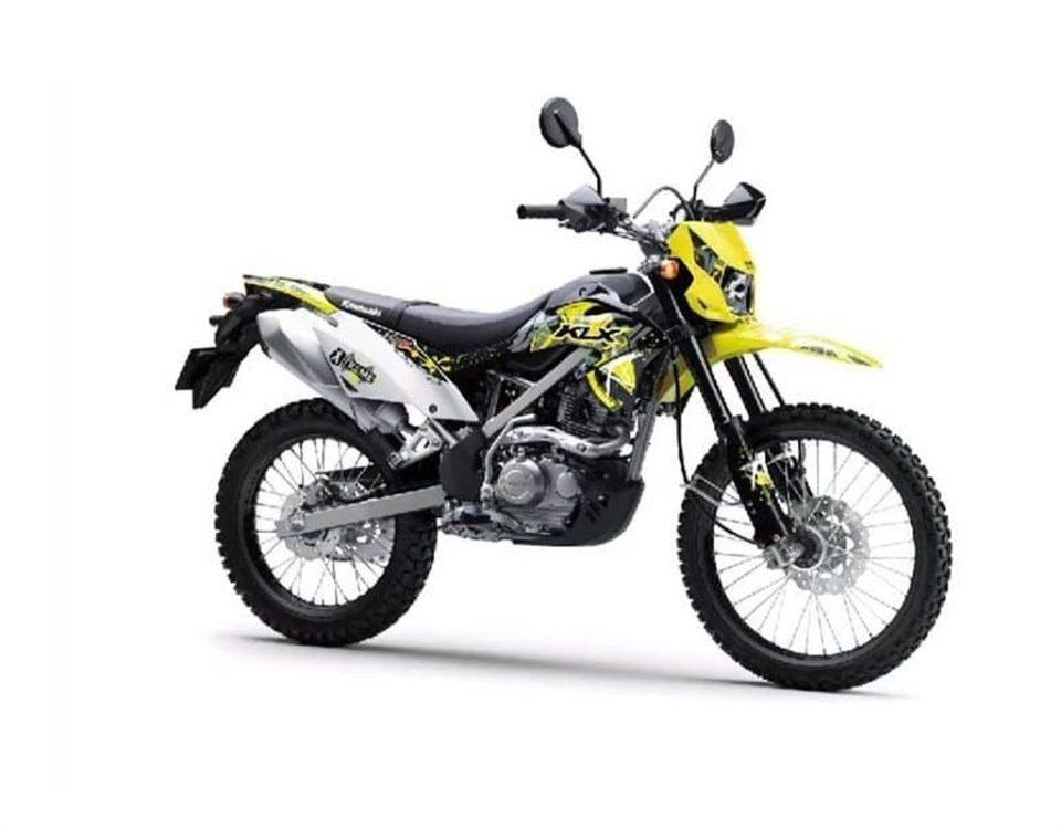 Jual Kawasaki KLX150 Tipe Terbaru JABODETABEKSER